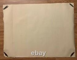 1979 Vintage Original British Quad ALIEN Movie Poster 40 x 30