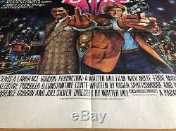 48 Hours Original British Quad Cinema Movie Poster