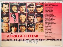 A Bridge Too Far UK British Quad (1977) Original Film Poster
