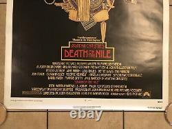 Agatha Christie Death on the Nile Original Movie Quad (1978) nr Mint Condition