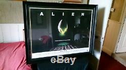 Alien Original 1979 UK Quad Cinema Film Poster