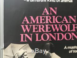 An American Werewolf In London UK Quad (1981) Original Film Poster