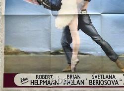 An Evening With The Royal Ballet Original Quad Film Poster 1963 Fonteyn, Nureyev