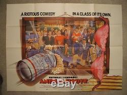 Animal House 1978 Original British Quad Movie Poster National Lampoon's Ex-nm
