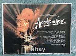 Apocalypse Now 1979 Uk Quad 100% Original Film Poster