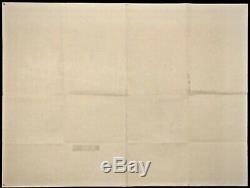 Apocalypse Now Original Quad Movie Poster Francis Ford Coppola Brando Sheen 1979
