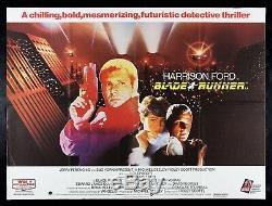 BLADE RUNNER CineMasterpieces RARE UK QUAD BRITISH ORIGINAL MOVIE POSTER 1982