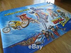 BMX BANDITS ORIGINAL 1983 UK CINEMA QUAD FILM POSTER V RARE ROLLED Nicole Kidman