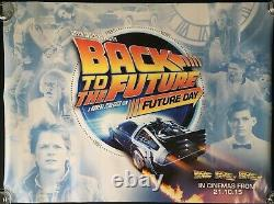 Back to the Future'Day' Original Quad Movie Poster 2015