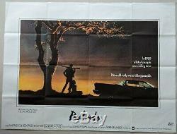 Badlands 1974 Original UK Quad Fim Movie Poster Martin Sheen Sissy Spacek