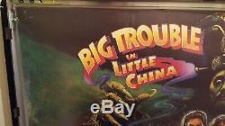 Big Trouble In Little China Quad Poster cinema movie film poster Original 1980s