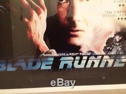 Blade Runner 2015 Bfi The Final Cut British Quad Film Poster Ltd Edition Framed