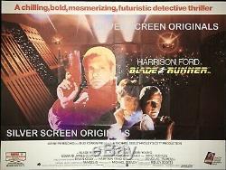 Blade Runner Original Quad Movie Poster 1982 Ridley Scott Harrison Ford