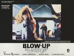 Blow-Up 1966 British Quad Poster