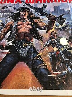 Bronx Warriors Original British Quad Cinema Movie Poster
