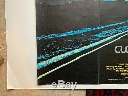 CLOSE ENCOUNTERS OF THE THIRD KIND (1977) original UK quad movie poster