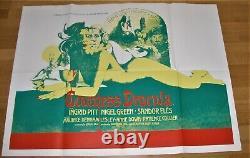 COUNTESS DRACULA (1971) Hammer Films Ingrid Pitt Vintage Original UK Quad Poster