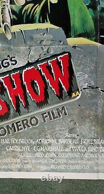 CREEPSHOW (1982) original UK quad movie poster George Romero Stephen King