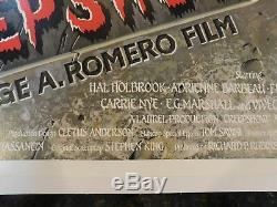 CREEPSHOW Original 1982 British Quad Movie Poster, C8.5 Very Fine/Near Mint