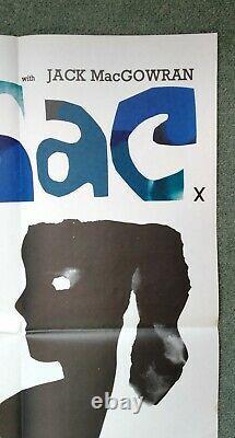 CUL-DE-SAC (1966) original UK quad movie poster DONALD PLEASENCE ROMAN POLANSKI