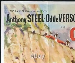 Checkpoint Original Quad Movie Poster Stanley Baker Ralph Thomas 1956