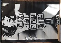 Chelsea Girls vintage film cinema movie advertising Warhol quad art James Bond