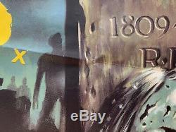 City Of The Living Dead Original UK British Quad Film Poster 1980 RARE Fulci