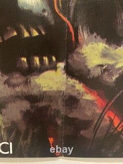 City of The Living Dead Original UK Quad 30x40 (1980) Film Poster Lucio Fulci