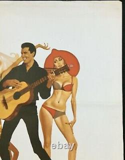 Clambake Original Quad Movie Poster Elvis Presley 1967