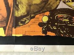 Coogan's Bluff Original Movie Quad Poster 1968 Clint Eastwood Lee J Cobb