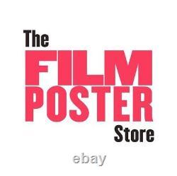 Coogan's Bluff Original UK Film Poster LINEN BACKED Quad 1968 Clint Eastwood
