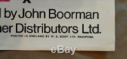 DELIVERANCE (1972) original UK quad movie poster John Boorman Burt Reynolds