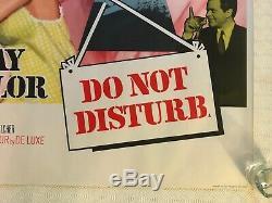 Do Not Disturb Original Movie Quad Poster 1965 Doris Day Rod Taylor Chantrell