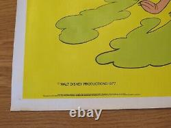 Donald Duck Goes West Original 1977 Rr Uk Cinema Quad Film Poster Rolled Disney