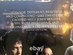 Donnie Darko Original UK Movie Quad Rare Landscape View (2001)