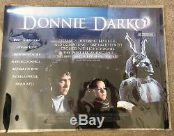Donny Darko Original British Quad Movie Poster Rare Landscape Version