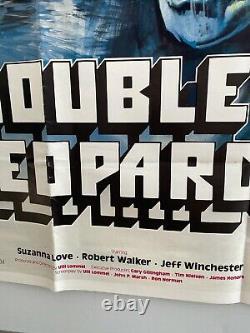 Double Jeopardy Original 1983 UK Quad Chantrell Art Film Poster RARE