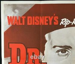 Dr Syn Alias The Scarecrow Original Quad Movie Poster Walt Disney 1963
