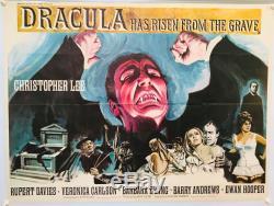 Dracula Has Risen From The Grave UK British Quad (1968) Original Film Poster