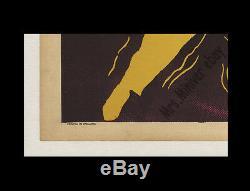 ELVIS PRESLEY 1956 LOVE ME TENDER Rolled Never-Folded BRITISH QUAD Movie Poster