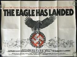 Eagle Has Landed Original Quad Movie Poster Michael Caine John Sturges 1976