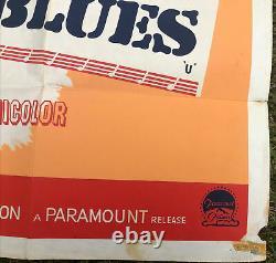 Elvis Gi Blues Original Uk Quad. Film Poster. 30x40