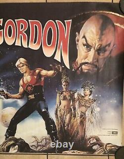 Flash Gordon Original UK Movie Quad (1980)