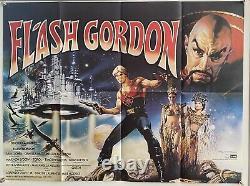 Flash Gordon UK British Quad (1980) Original Film Poster