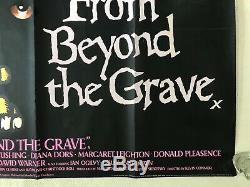 From Beyond the Grave Original 1974 Movie Quad Poster Peter Cushing