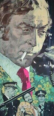 GET CARTER (1971) original UK quad movie poster Michael Caine Arnaldo Putzu