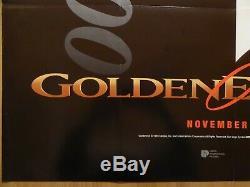 GOLDENEYE (1995) original UK quad advance film/movie poster, James Bond, rare
