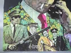 Get Carter Michael Caine / Ian Hendry Original Uk Quad Movie Poster