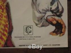 Golden Voyage Of Sinbad Original British Quad Movie Poster- Ray Harryhausen