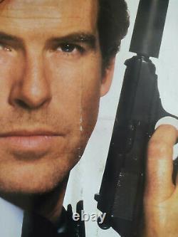 Goldeneye 1995 Original UK Quad Cinema Movie Poster 007 James Bond